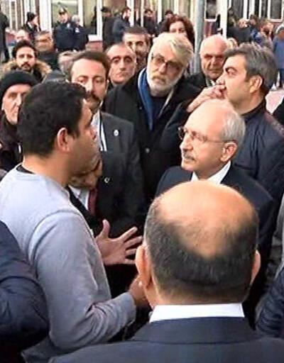 Kılıçdaroğlu saldırıda yaralananları ziyaret etti