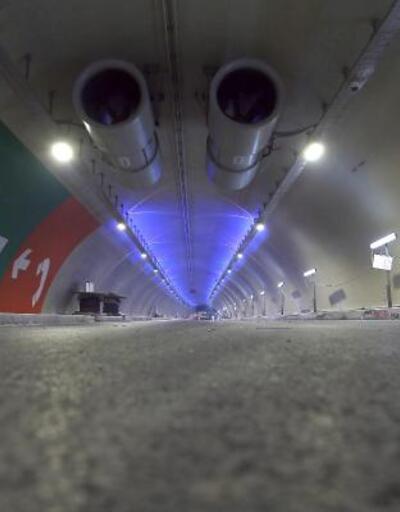 20 Aralık'ta açılacak olan Avrasya Tüneli'nin içi görüntülendi