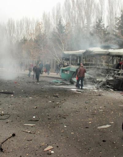 Kayseri'deki terör saldırısında 4 gözaltı