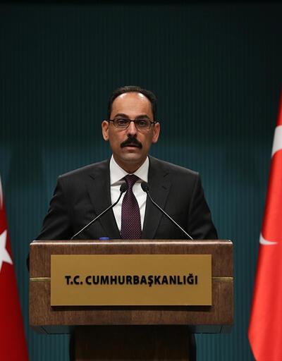 İbrahim Kalın'dan Astana açıklaması: 'Türkiye garantör olacak'