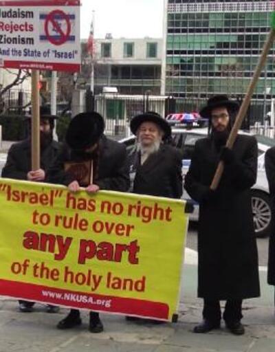 ABD'deki Yahudilerden BM'nin İsrail kararına destek
