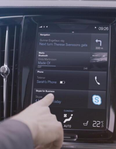 Skype, Volvo otomobillere giriyor