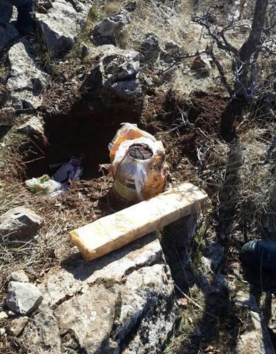 Bitlis'te bulunan patlayıcı imha edildi