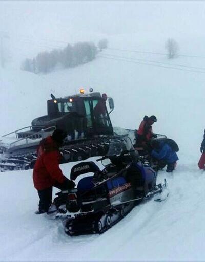 Uludağ'da kar kalınlığı 2 metreyi geçti