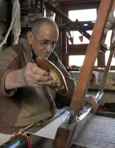 Dokuma sanatının son temsilcisi Yaşar usta