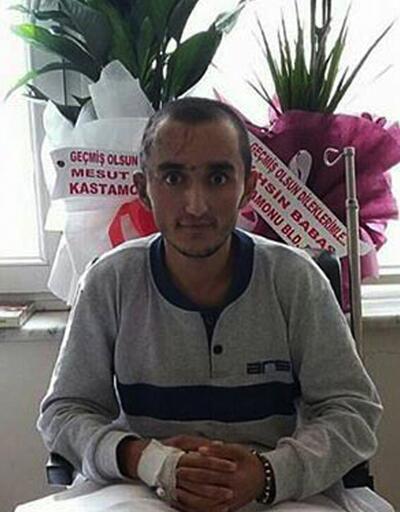 Gazinin mesajı: Öldüremedin PKK bir bacak gitti