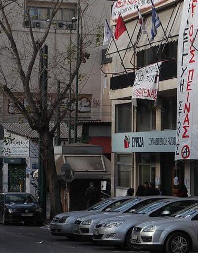 SYRIZA'ya şüpheli paket gönderildi
