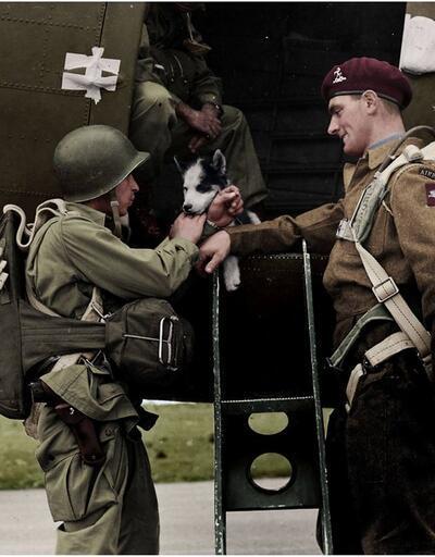 İkinci Dünya Savaşı'ndan renklendirilmiş fotoğraflar