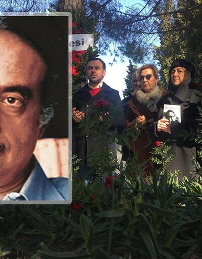 Gazeteci Abdi İpekçi mezarı başında anıldı