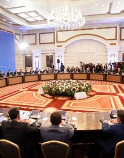 Astana'da teknik görüşmeler sona erdi