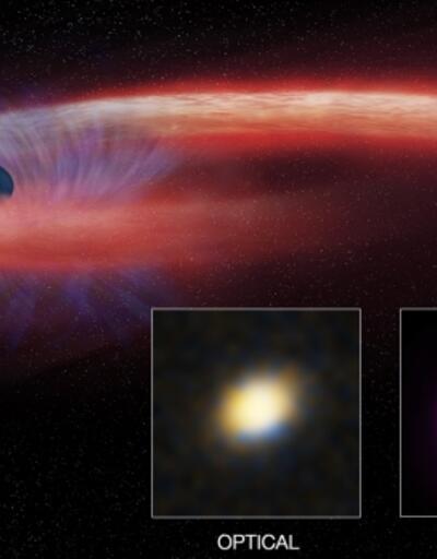11 yıldır yıldız çiğneyen kara delik
