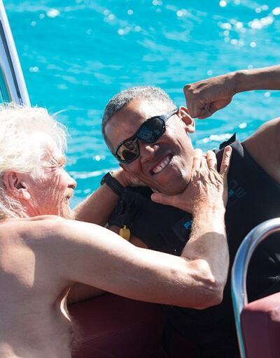 Barack Obama'yı hiç böyle görmediniz