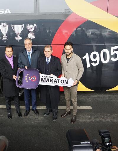 Galatasaray'ın tercihi  Temsa Maraton oldu