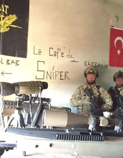 El Bab operasyonundan çarpıcı fotoğraflar