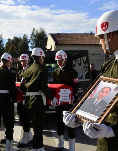 Amanos'ta şehit olan asker memleketine uğurlandı