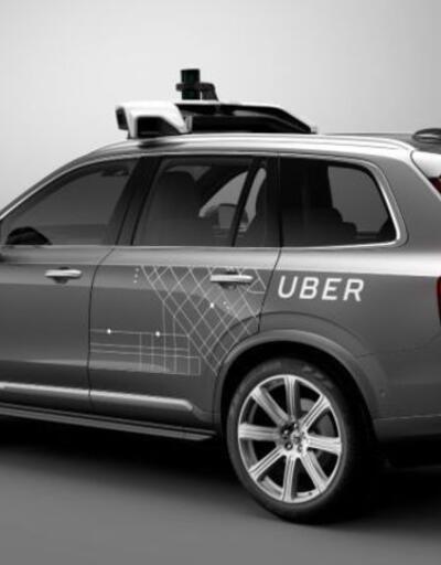 Sürücüsüz Uber arabaları sokaklarda
