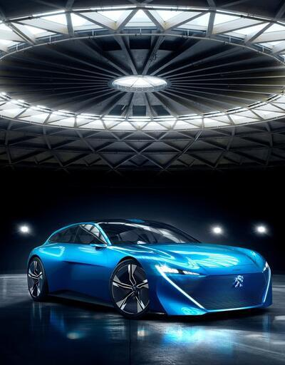 Peugeot Instinct konsept otomobili ortaya çıktı