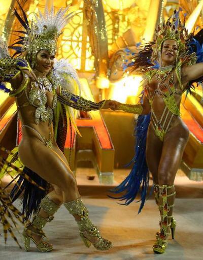 Reuters objektifinden Rio karnavalı