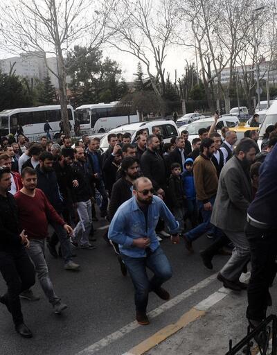İstanbul Emniyeti önünde Hızb-ut Tahrir gerilimi