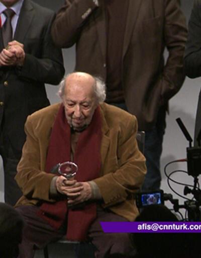 Fotoğrafçı Ara Güler'e onur ödülü