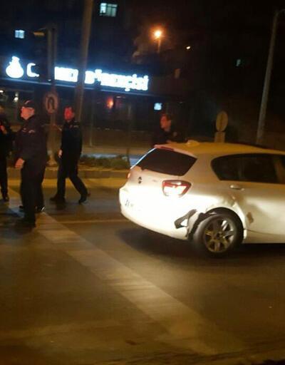 Dur ihtarına uymadı polis alarma geçti