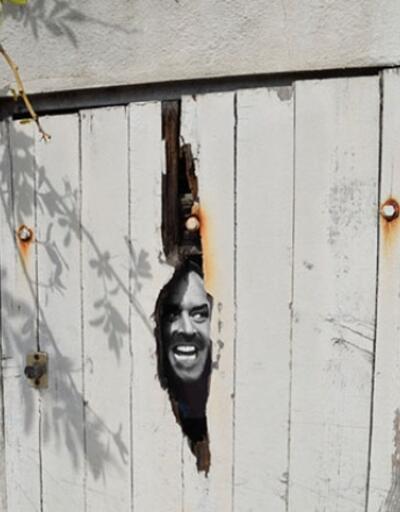 Gülümseten sokak sanatları