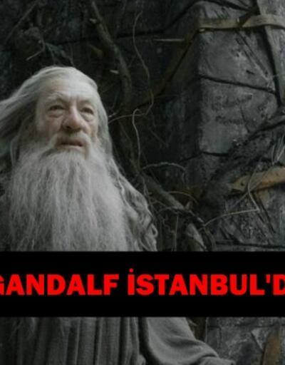 Gandalf İstanbul'a geldi   İstanbul Film Festivali'nde onur ödülü alacak