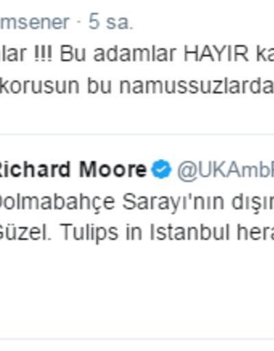 Ertem Şener ile İngiliz Büyükelçi Twitter'da tartıştı