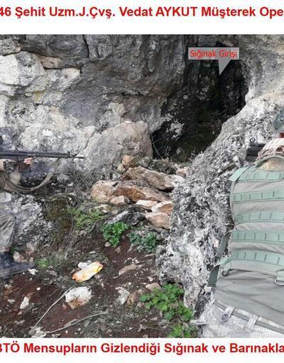 Lice'deki PKK sığınaklarında ele geçirildi
