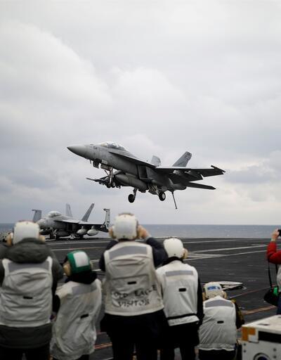 Füze testleri sonrası ABD uçak gemisini bölgeye gönderdi