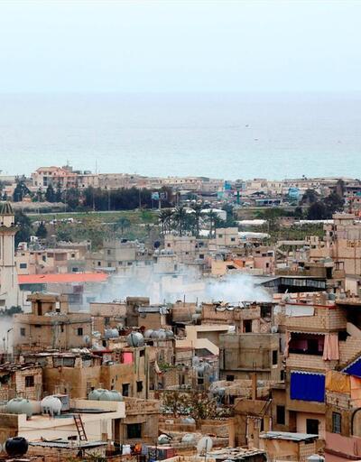 Lübnan'da mülteci kampında çatışma