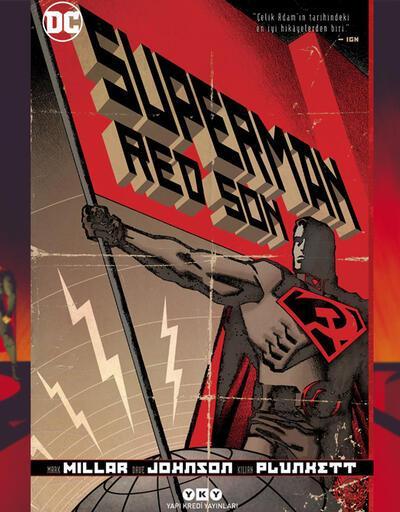 Mark Millar'dan sıradışı bir hikaye 'Süperman Red Son'
