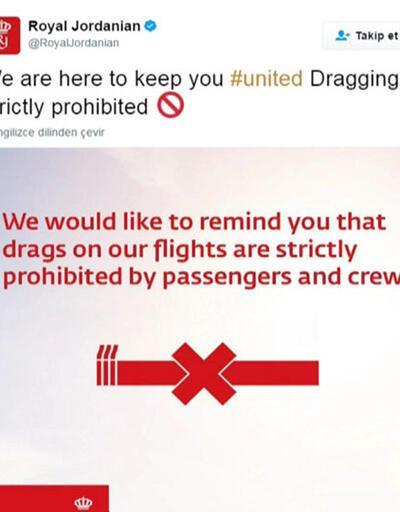 Havadaki skandal sosyal medyada reklam malzemesi oldu