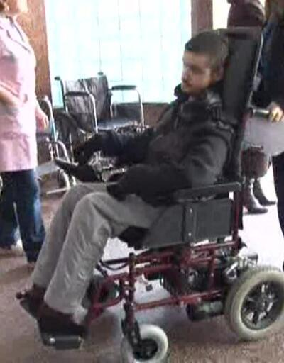 Camilere engelliler için şarj ünitesi