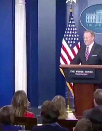 Beyaz Saray'da kahkahaya boğan anlar