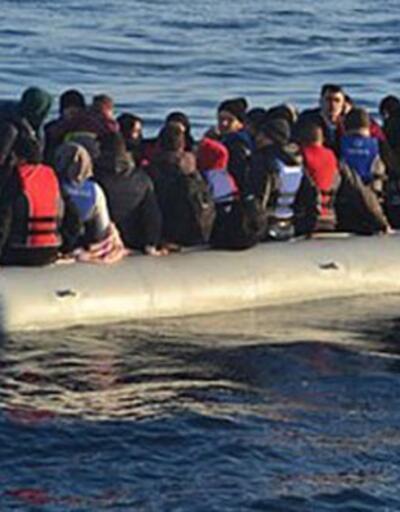 Midilli Adası'na 24 saatte 300 göçmen çıktı