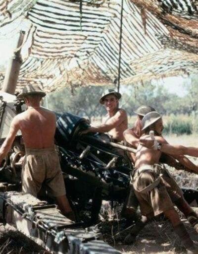İkinci Dünya Savaşı'nın renkli fotoğrafları ortaya çıktı