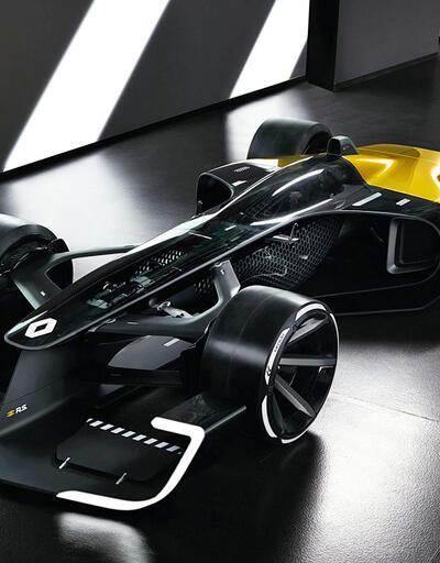 Renault R.S 2027 Vision konsept Formula 1 otomobili