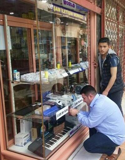 Gaziantep'te tabela operasyonu: Arapça tabelalar kaldırıldı
