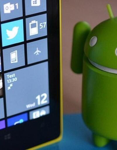Aynı telefonda hem Windows Phone hem Android