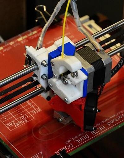 Tosya'da öğrenciler 3D yazıcı yaptı