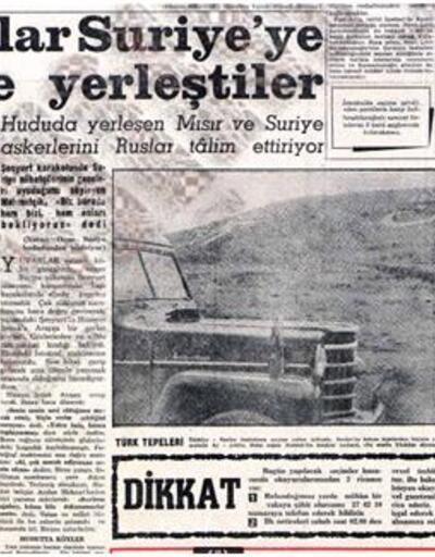 Türkiye ve Rusya 60 yıl önce de Suriye krizi yaşamıştı: 'Roketler uçmaya başlayabilir'