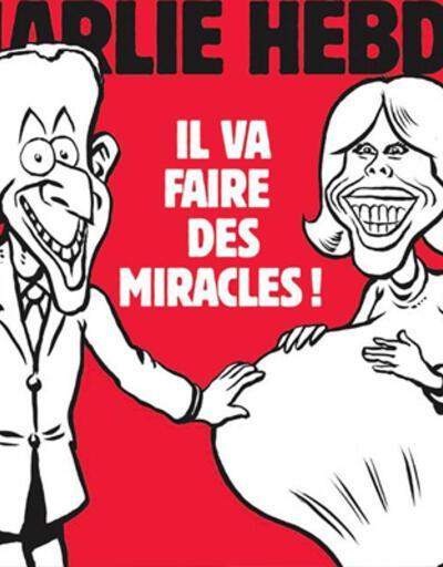 Charlie Hebdo'nun karikatürü tartışma yarattı