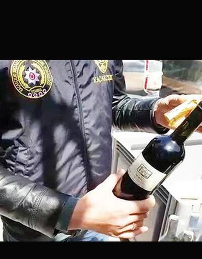 Şarap devine polis baskını