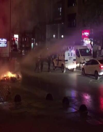 Sultangazi'de cinayetin işlendiği mahallede polis müdahalesi
