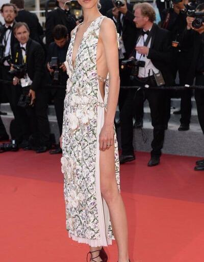 Cannes Film Festivali'ne damga vuran kıyafetler