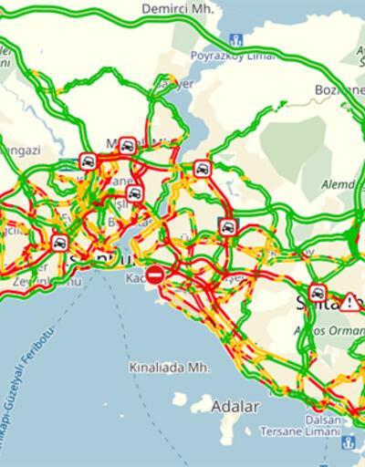 İstanbul'da '19 Mayıs' trafiği