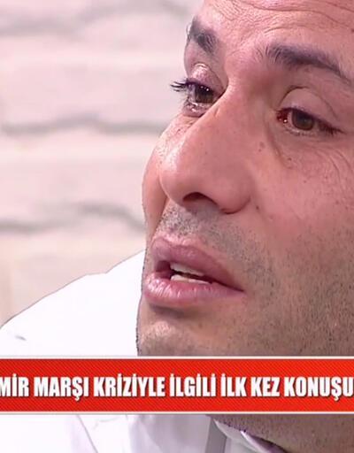 İzmir Marşı'na küfür eden Ebubekir Öztürk konuştu