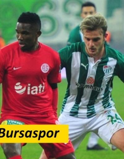 Antalyaspor-Bursaspor maçı ne zaman, saat kaçta? | Bursa kazanırsa ligde kalıyor