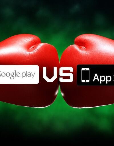 App Store, Google Play'den fazla para kazandırıyor!